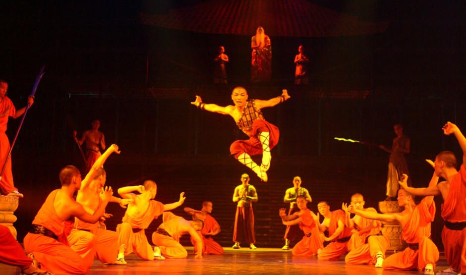 北京紅劇場少林寺